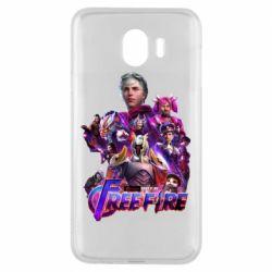 Чехол для Samsung J4 Garena free avengers