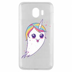 Чохол для Samsung J4 Ghost Unicorn