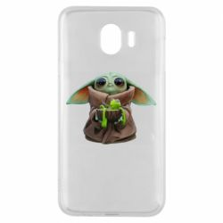 Чохол для Samsung J4 Grogu and Kermit