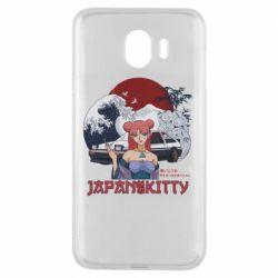 Чохол для Samsung J4 Japan Kitty