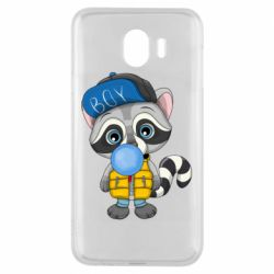 Чехол для Samsung J4 Little raccoon