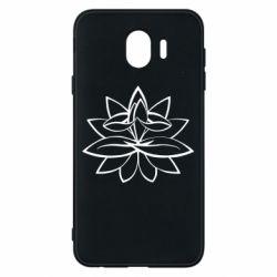 Чохол для Samsung J4 Lotus yoga