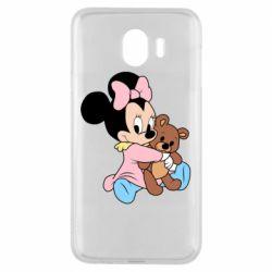 Чохол для Samsung J4 Minnie And Bear