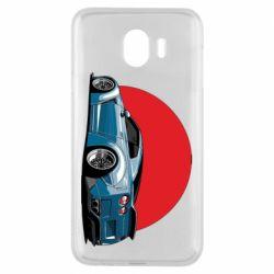Чехол для Samsung J4 Nissan GR-R Japan