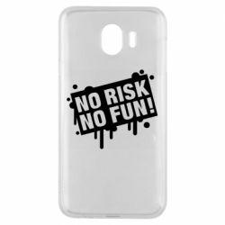 Чохол для Samsung J4 No Risk No Fun