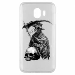 Чехол для Samsung J4 Plague Doctor graphic arts