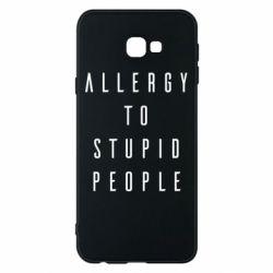 Чохол для Samsung J4 Plus 2018 Allergy To Stupid People