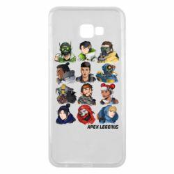 Чохол для Samsung J4 Plus 2018 Apex legends heroes