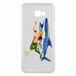 Чехол для Samsung J4 Plus 2018 Aquaman with a shark