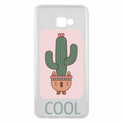 Чехол для Samsung J4 Plus 2018 Cactus art
