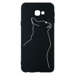 Чохол для Samsung J4 Plus 2018 Cat line