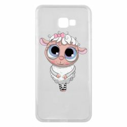 Чехол для Samsung J4 Plus 2018 Cute lamb with big eyes
