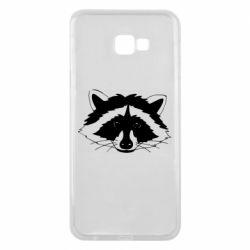 Чохол для Samsung J4 Plus 2018 Cute raccoon face