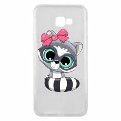 Чехол для Samsung J4 Plus 2018 Cute raccoon