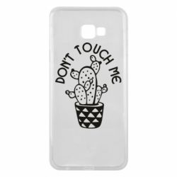 Чехол для Samsung J4 Plus 2018 Don't touch me cactus