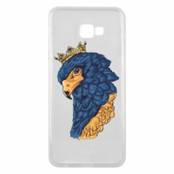 Чехол для Samsung J4 Plus 2018 Eagle with a crown on its head