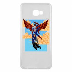 Чохол для Samsung J4 Plus 2018 Falcon holds Bucky