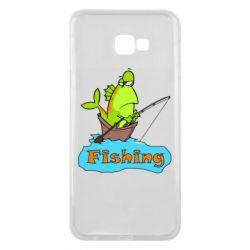 Чехол для Samsung J4 Plus 2018 Fish Fishing