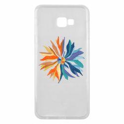 Чохол для Samsung J4 Plus 2018 Flower coat of arms of Ukraine