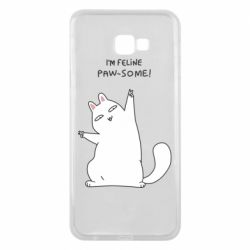Чехол для Samsung J4 Plus 2018 I'm feline paw some