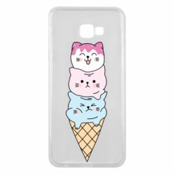Чехол для Samsung J4 Plus 2018 Ice cream kittens