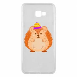Чохол для Samsung J4 Plus 2018 Little hedgehog in a hat
