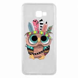 Чохол для Samsung J4 Plus 2018 Little owl with feathers