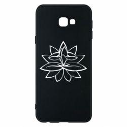 Чохол для Samsung J4 Plus 2018 Lotus yoga