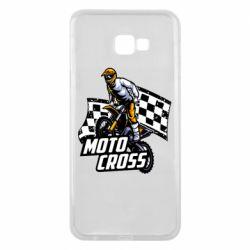Чехол для Samsung J4 Plus 2018 Motocross