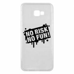 Чохол для Samsung J4 Plus 2018 No Risk No Fun