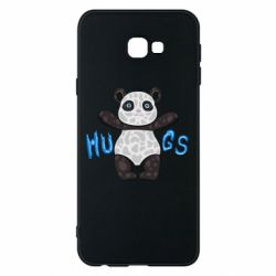 Чехол для Samsung J4 Plus 2018 Panda hugs