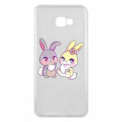 Чохол для Samsung J4 Plus 2018 Rabbits In Love