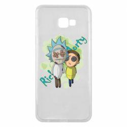 Чохол для Samsung J4 Plus 2018 Rick and Morty voodoo doll