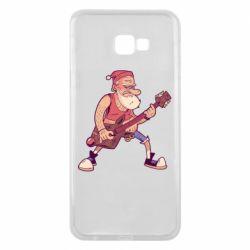 Чохол для Samsung J4 Plus 2018 Rock'n'roll Santa