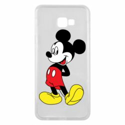 Чехол для Samsung J4 Plus 2018 Smiling Mickey