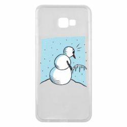 Чохол для Samsung J4 Plus 2018 Snowman. It's Cold!