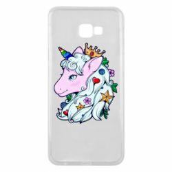 Чохол для Samsung J4 Plus 2018 Unicorn Princess