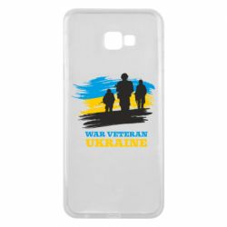 Чохол для Samsung J4 Plus 2018 War veteran оf Ukraine