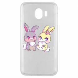 Чохол для Samsung J4 Rabbits In Love