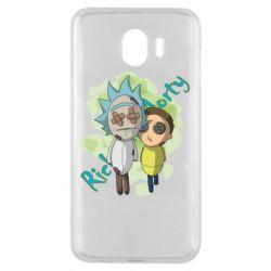 Чохол для Samsung J4 Rick and Morty voodoo doll