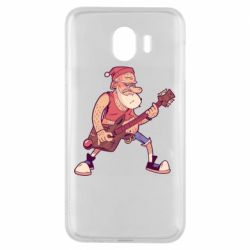 Чохол для Samsung J4 Rock'n'roll Santa