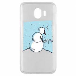 Чохол для Samsung J4 Snowman. It's Cold!