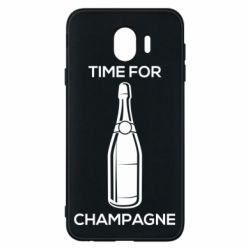 Чохол для Samsung J4 Time for champagne