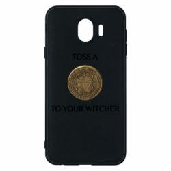 Чохол для Samsung J4 Toss a coin to your witcher ( орен )