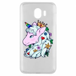 Чохол для Samsung J4 Unicorn Princess