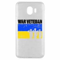Чохол для Samsung J4 War veteran