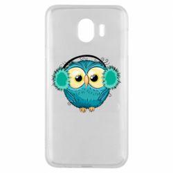 Чехол для Samsung J4 Winter owl
