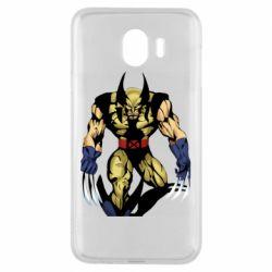 Чохол для Samsung J4 Wolverine comics