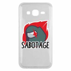 Чохол для Samsung J5 2015 Among Us Sabotage