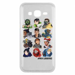 Чохол для Samsung J5 2015 Apex legends heroes